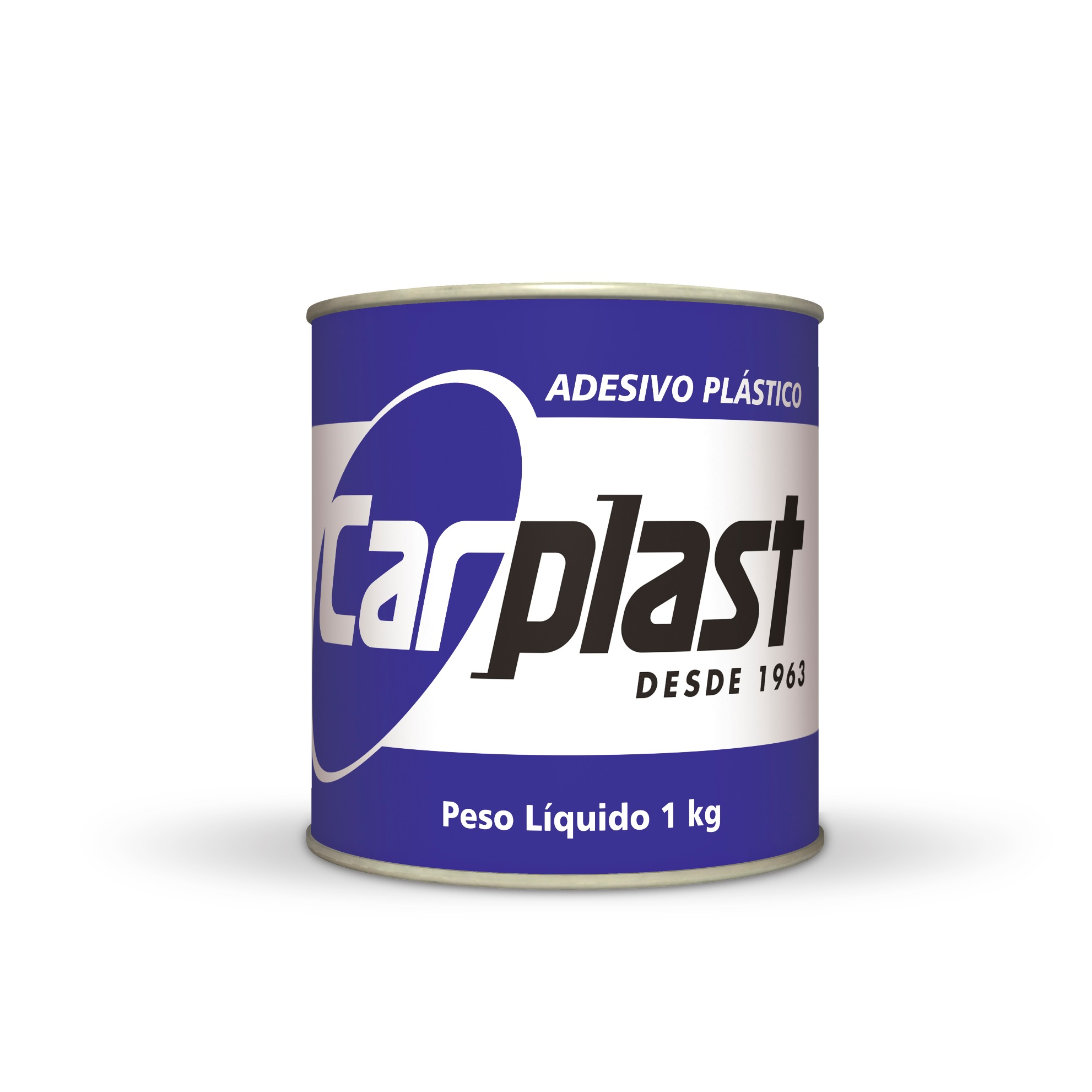 Gray Plastic Carplast Sticker
