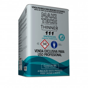 Thinner 111 Synthetic Primer Nitro - 18L